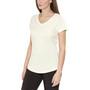 Bergans Straw T-paita Naiset, white/alu