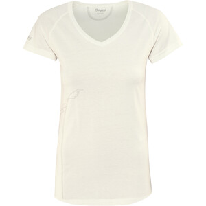 Bergans Straw T-Shirt Damen white/alu white/alu
