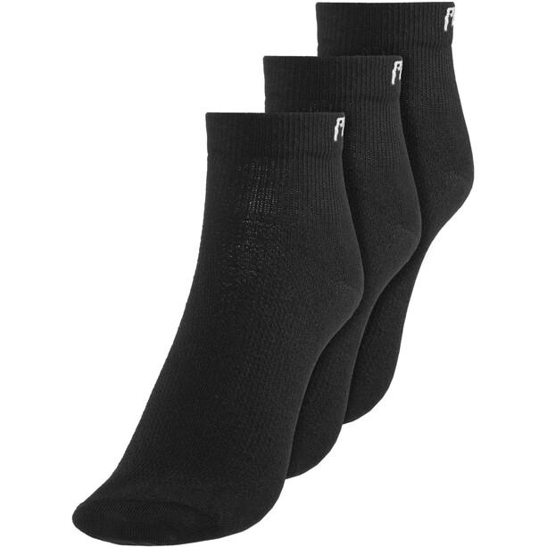 PEARL iZUMi Attack Low Socks 3-pack Herr black
