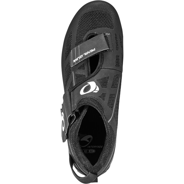 PEARL iZUMi Tri Fly Select v6 Schuhe Herren black/shadow grey