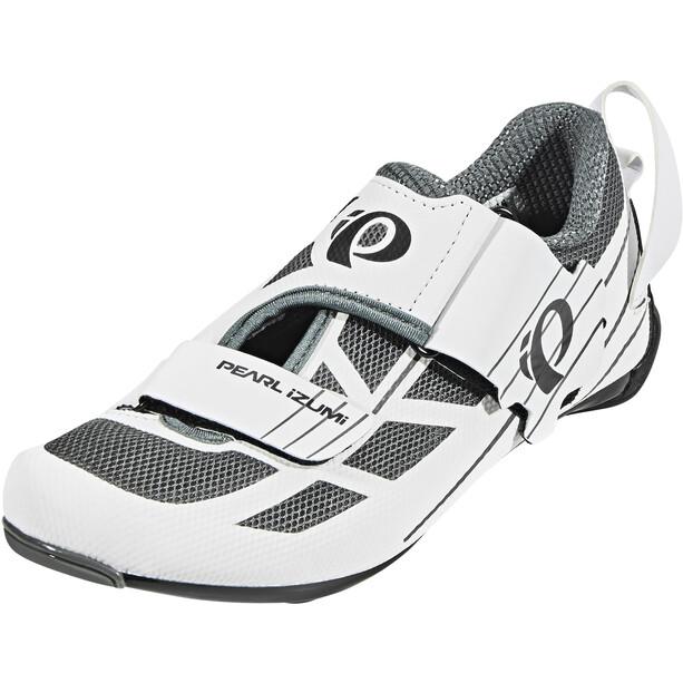PEARL iZUMi Tri Fly Select v6 Schuhe Damen white/shadow grey