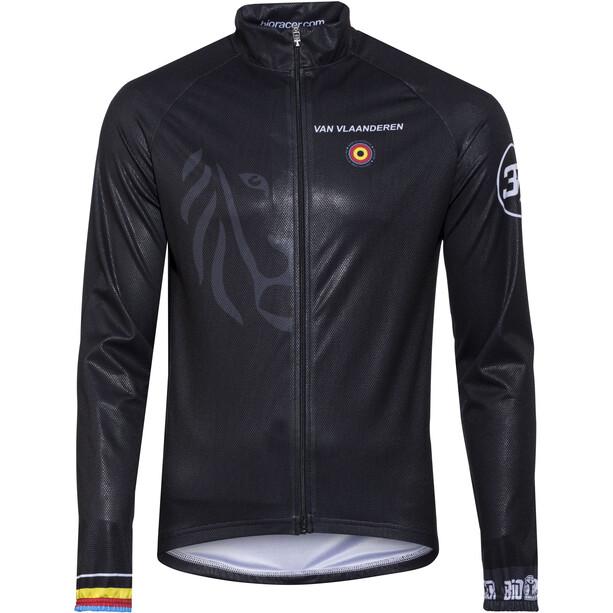 Bioracer Van Vlaanderen Pro Race Veste Coupe-vent Homme, black