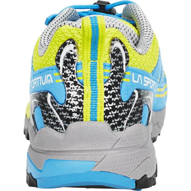La Sportiva Falkon Low Schuhe Kinder gelb/blau