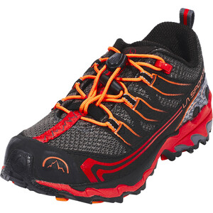 La Sportiva Falkon Low Schuhe Kinder grau/rot grau/rot