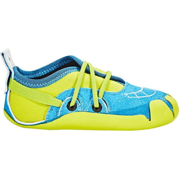 La Sportiva Gripit Kletterschuhe Kinder blue/sulphur