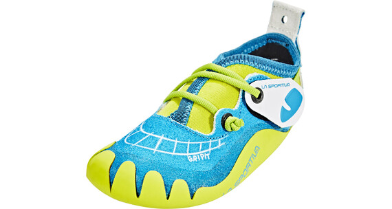 la sportiva gripit chaussures d 39 escalade enfant jaune bleu sur. Black Bedroom Furniture Sets. Home Design Ideas