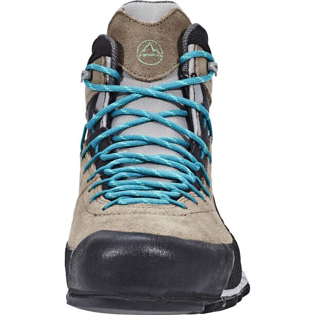 La Sportiva TX4 GTX Mid Schuhe Damen taupe/emerald