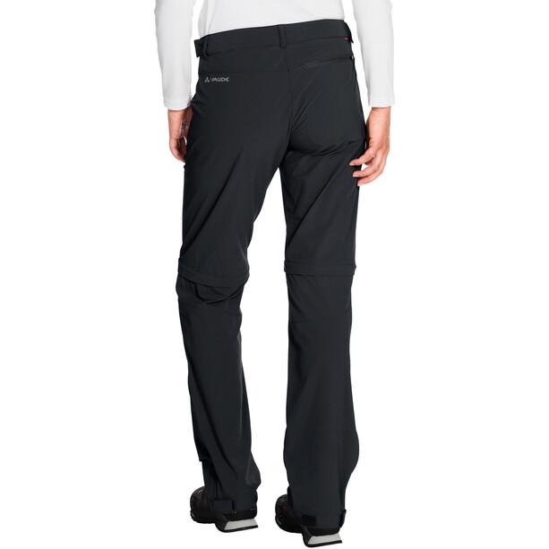 VAUDE Farley Stretch Zip-Off T-Zip Hose Damen black