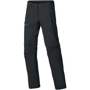 VAUDE Farley Stretch Zip-Off T-Zip Hose Damen black black