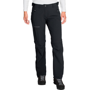 VAUDE Farley Stretch Zip-Off T-Zip Pants Women, black black