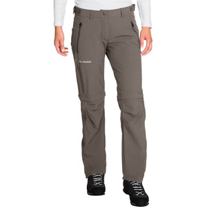 VAUDE Farley Stretch Zip-Off T-Zip Hose Damen coconut coconut
