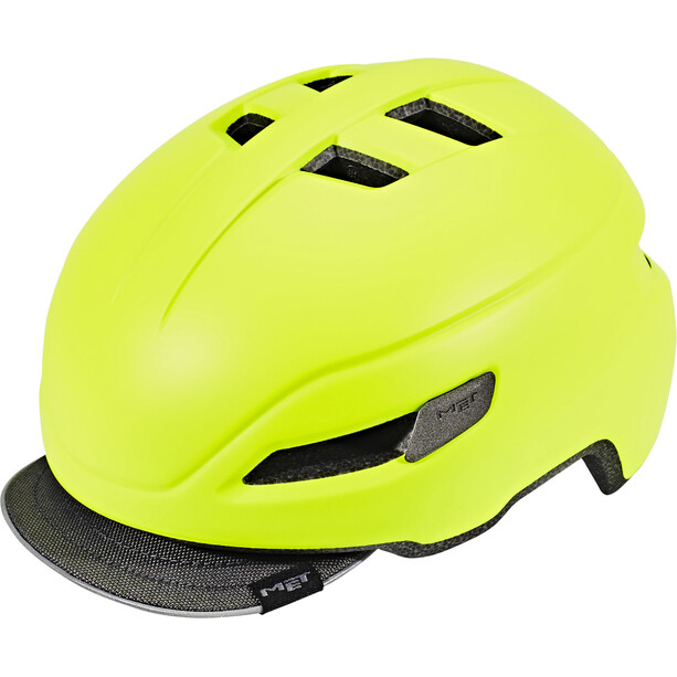 MET Corso Helm matt safety yellow