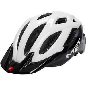 MET Crossover Helm weiß/schwarz weiß/schwarz