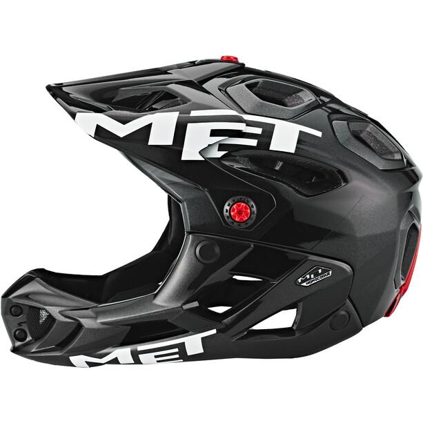 MET Parachute Helm anthracite/black