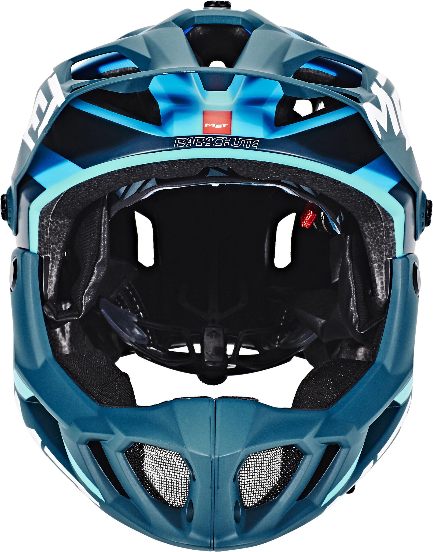 MET Parachute Casque, blue/cyan - Boutique de vélos en ...