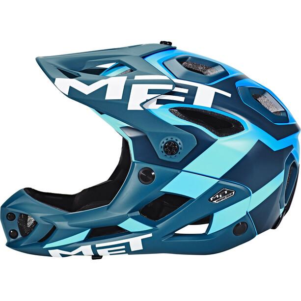 MET Parachute Helm blue/cyan