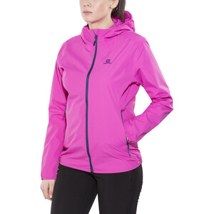 Salomon Essential Jacke Damen rose violet rose violet