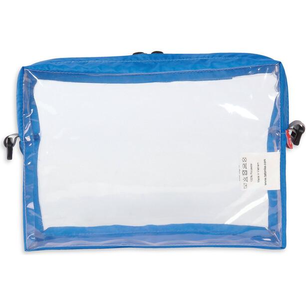 Tatonka Clear Tasche A5 transparent/blau
