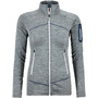 Ortovox Melange Fleece Jacket Light Dam grey blend