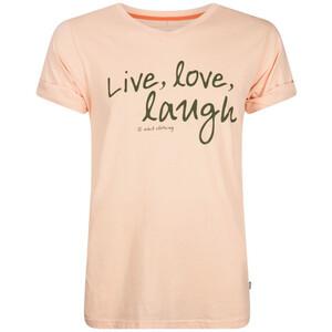 Nihil Live Love Laugh T-Shirt Jungen pink bellini pink bellini