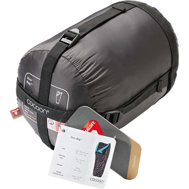 Cocoon Over Bag Ripstop Nylon/Primaloft braun/türkis