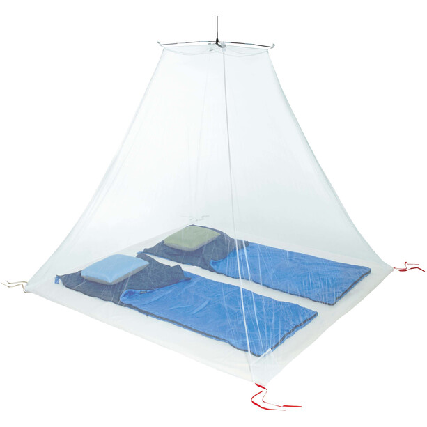Cocoon Mosquito Travel Net Ultralight Double transparent/weiß