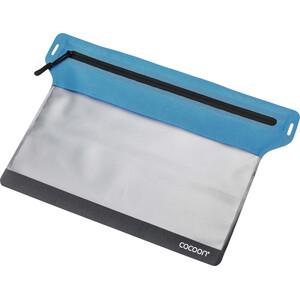 Cocoon Zippered Flat Dokumententasche Small blue blue