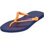 havaianas Slim Logo Flips Damen navy blue
