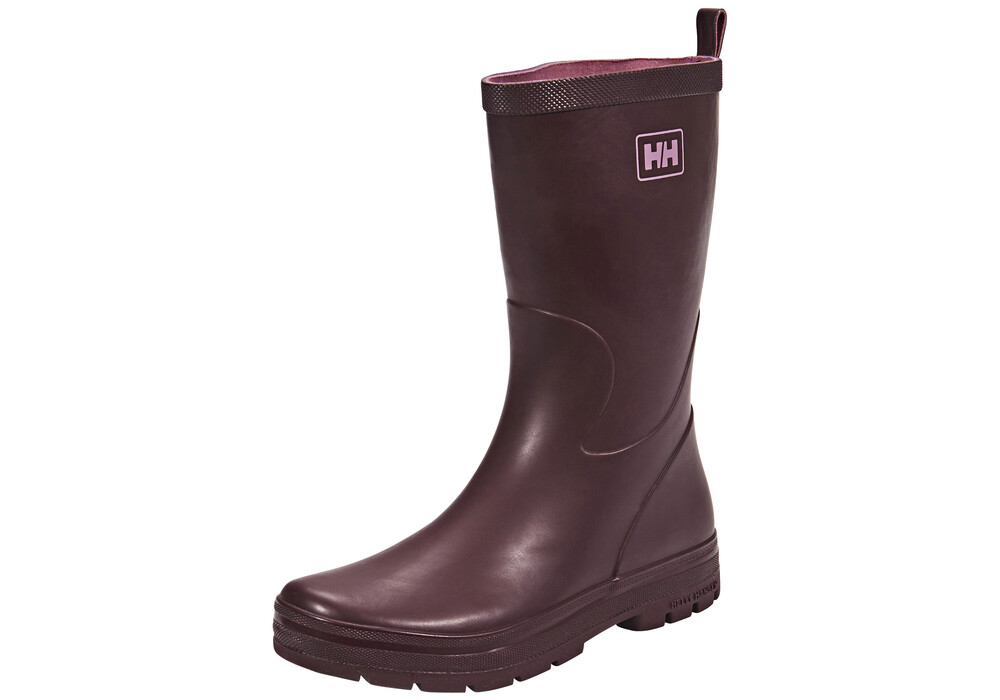 helly hansen midsund 2 bottes en caoutchouc femme violet sur. Black Bedroom Furniture Sets. Home Design Ideas