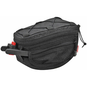 KlickFix Contoura Seat Post Bag ブラック