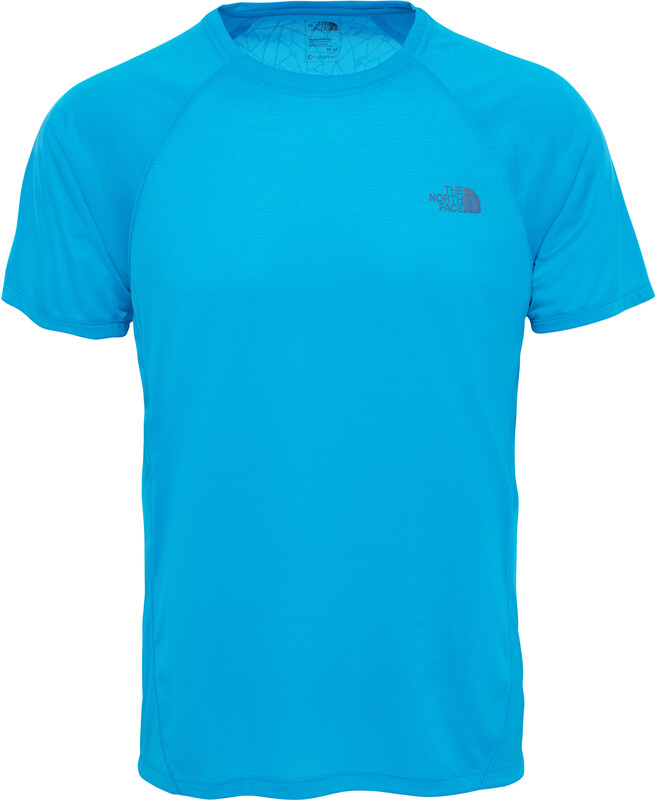 The North Face Better Than Naked Short Sleeve Shirt Herr hyper blue/hyper blue XL 2017 Kortärmade Löpartröjor