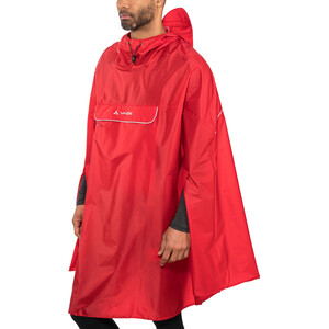 VAUDE Valdipino Poncho, indian red indian red