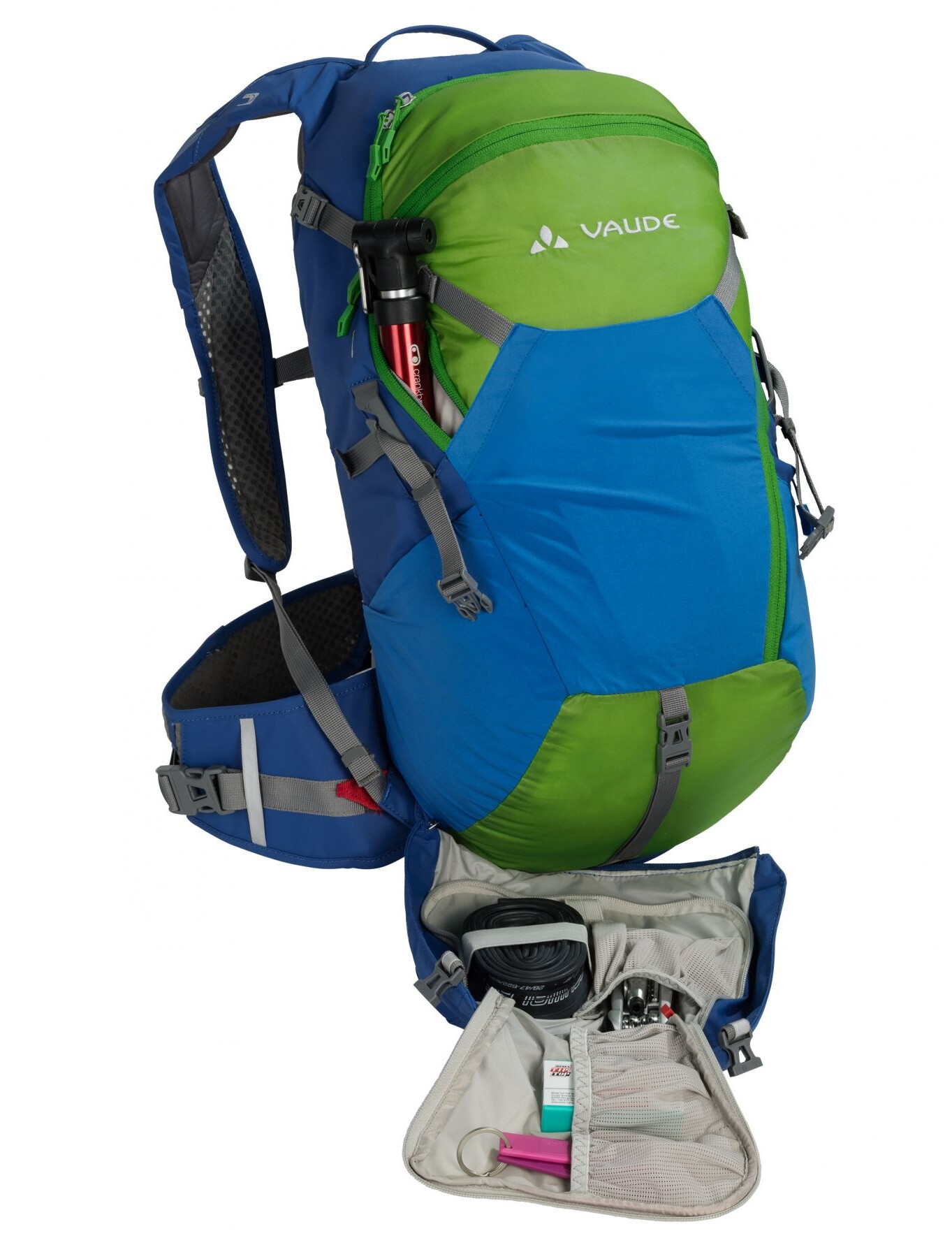 VAUDE Moab Pro 22 Backpack M green/blue at Addnature.co.uk