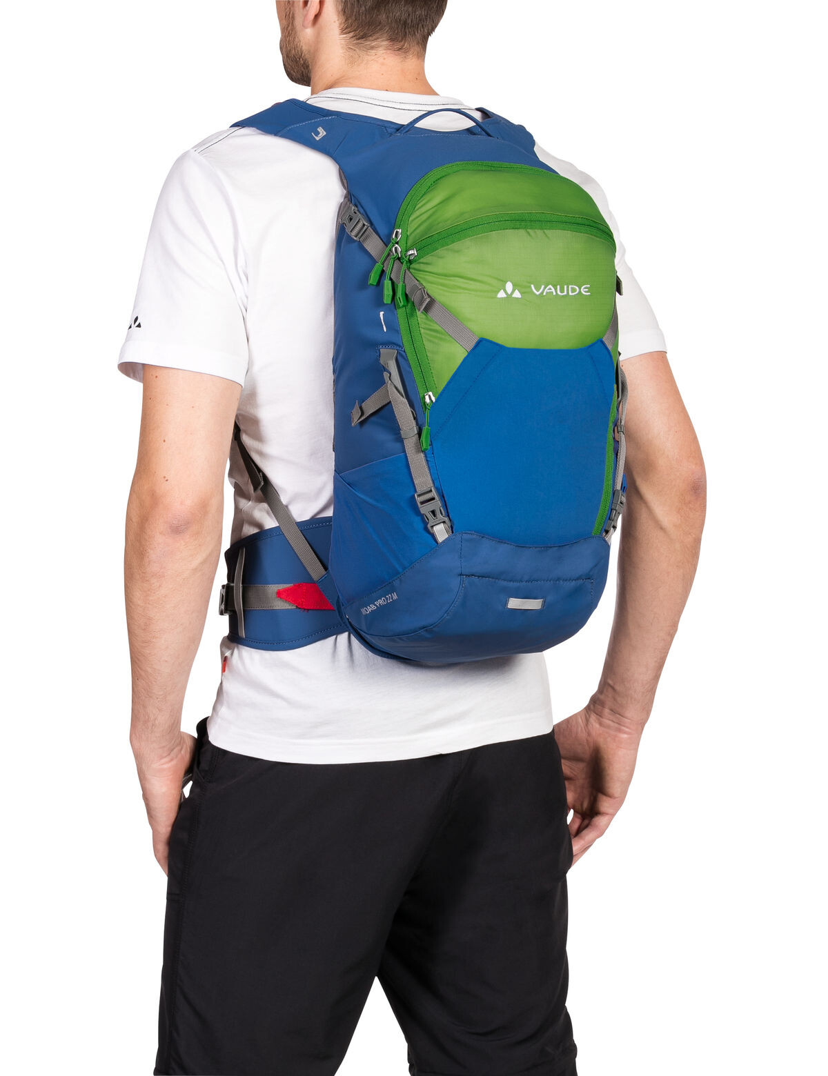 VAUDE Moab Pro 22 Backpack M green/blue