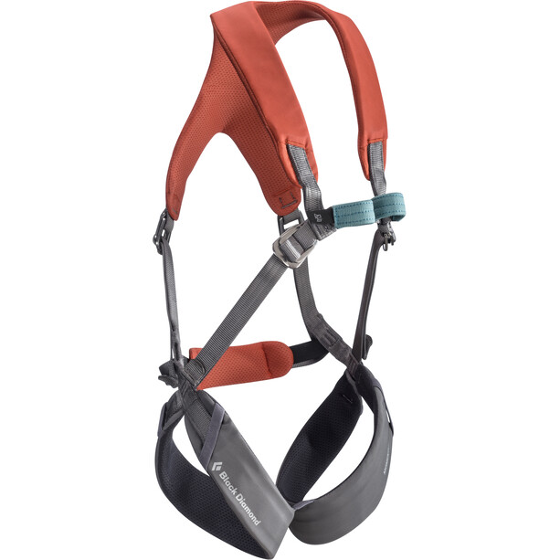 Black Diamond Momentum Full Body Harness Barn octane