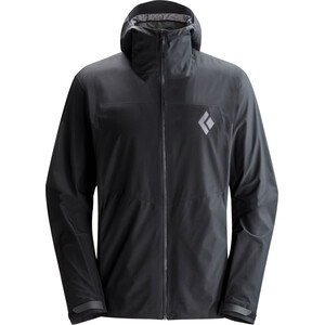 Black Diamond Liquid Point Shell Jacket Herr black black