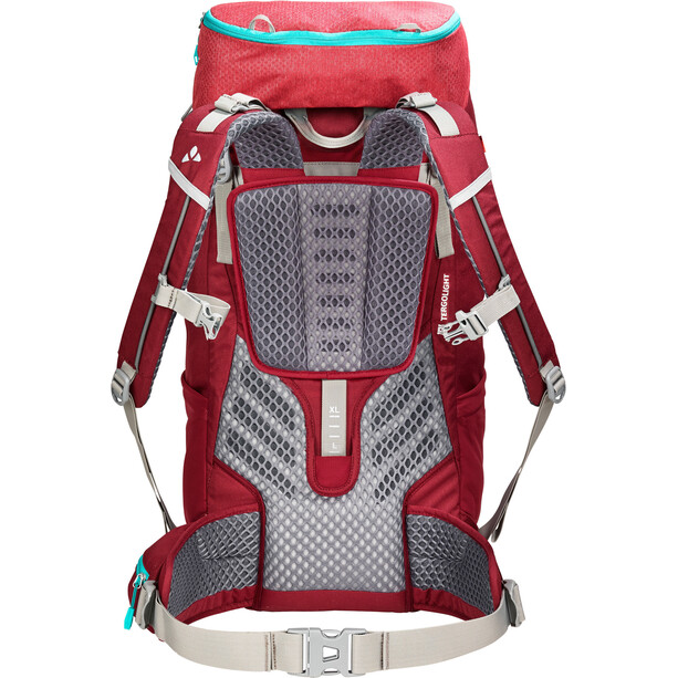 VAUDE Asymmetric 38+8 Rucksack Damen indian red