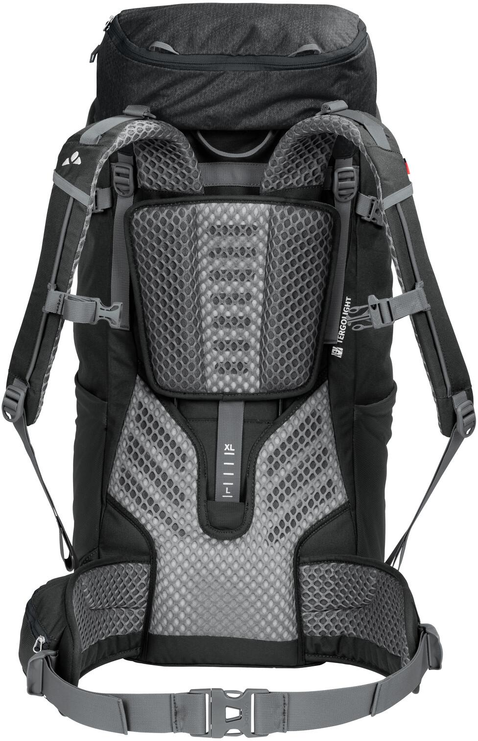 Vaude Asymmetric 52+8L Backpack Black