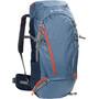 VAUDE Asymmetric 52+8 Rucksack fjord blue