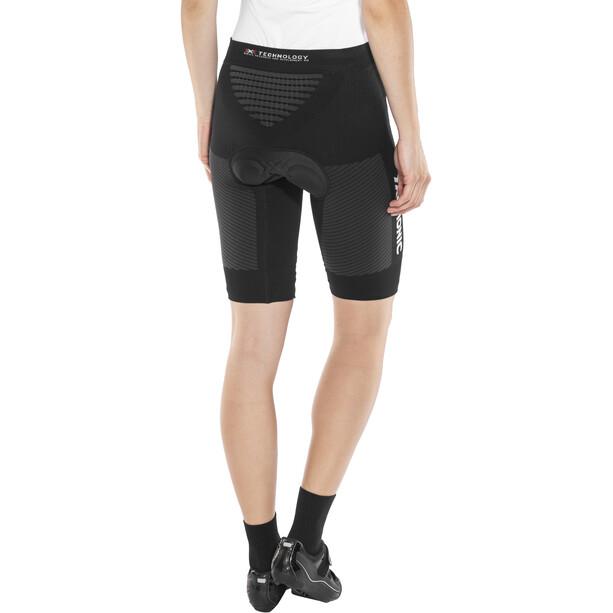 X-Bionic Race Evo Fahrradhose Kurz Damen black/anthracite