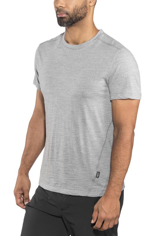 Lundhags Merino Light Tee Men Light Grey S 2018 Sportshirts, Gr. S