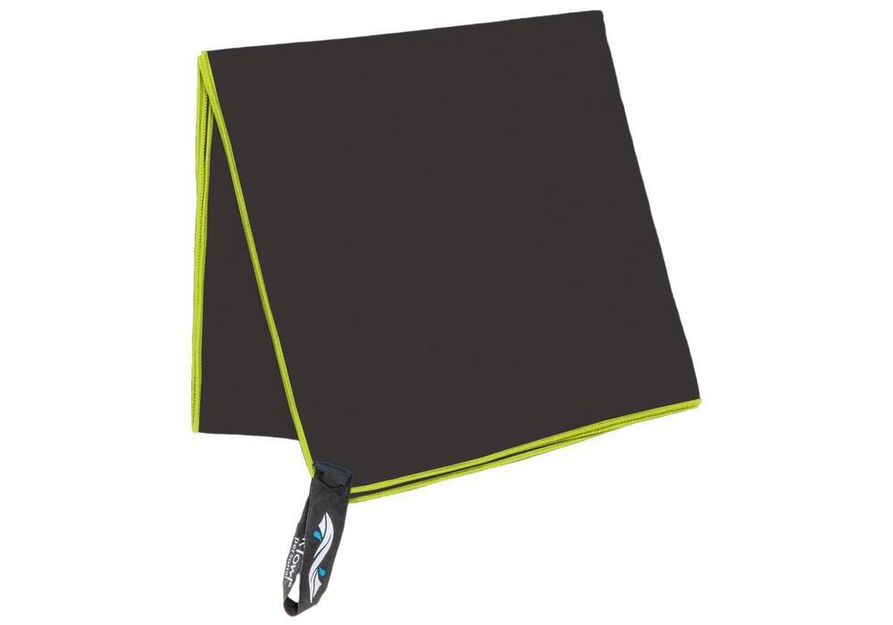 packtowl personal beach serviette de bain noir sur. Black Bedroom Furniture Sets. Home Design Ideas