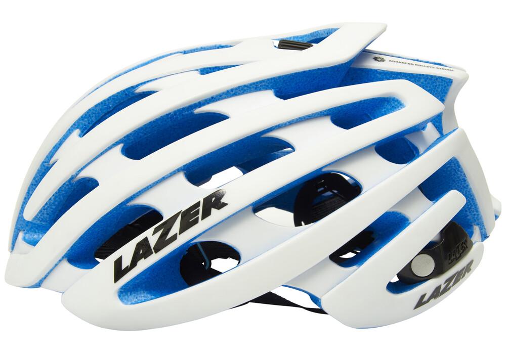Lazer Z1 - Casco - azul/blanco   Bikester.es - photo#22