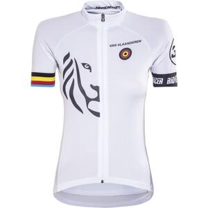 Bioracer Van Vlaanderen Pro Race Trikot Damen weiß weiß