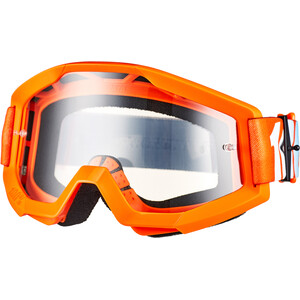100% Strata Goggles orange/clear orange/clear
