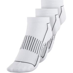 Endura Coolmax Stripe Strømper 3-pak Damer, hvid hvid