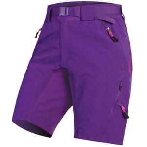 Endura Hummvee II Shorts Damen purple purple