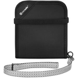 Pacsafe RFIDsafe V100 Bi-Fold Lompakko, musta musta