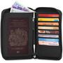 Pacsafe RFIDsafe LX150 Zip Pass-Brieftasche black