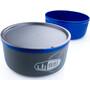 GSI Ultralight Nesting Schüssel + Becher blue
